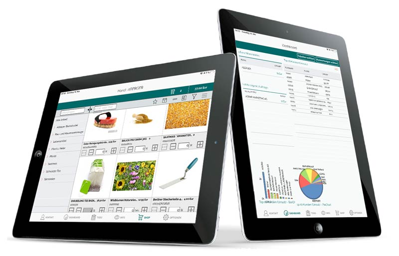 Amic, ERP, Software, Mobile Loesungen